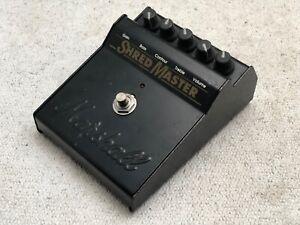 Vintage 1990s Marshall Shredmaster Guitar Distortion Pedal In Working Order