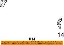Jeep CHRYSLER OEM 07-08 Patriot Rear Seat-Bracket Left 68001739AA