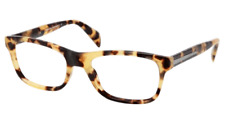 Prada Eyeglasses 19P Medium Havana 7S0-1O1 Men's Optical Frame PR19PV 55mm