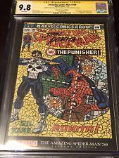 Amazing SpiderMan 789 CGC 9.8 SS Dimasi/Romita Shattered ASM 129 Homage Cover