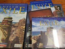 Pc/ Mac Myst III Exile primera edición española completo