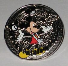 Merchantainment Mickey Mouse Disney Pin Silver Metal Cast Member Award WDW