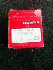 HONDA CR 125  1985 GENUINE PISTON 0.5 OVERSIZE OEM PISTON RINGS CIRCLIPS  85