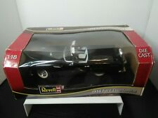 1/18 REVELL 1956 FORD THUNDERBIRD CONVERTIBLE BLACK