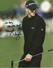 Vaughn Taylor - PGA Golf Original Autograph 8x10 Signed Photo