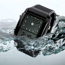 SKMEI 4 LED Model Square Military Digital Sport Waterproof Men's Wrist Watch
