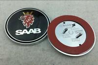 Auto Fronthaube Emblem Aufkleber Abziehbild Abzeichen Logo für SAAB OE:12785870