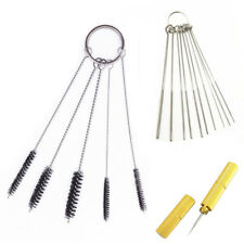 16x Cleaning Tool Kit Car Windscreen Jet Spray Nozzle Clean Brush Dredge Needle