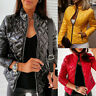 Women's Puffer Bubble Winter Coat Ladies Slim Padded Quilted Warm Jacket Outwear