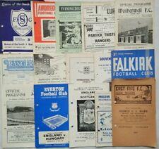 More details for vintage football programme souvenir dundee stranraer celtic mirren richie wade
