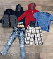 Boys Gap S Vest 2 Old Navy Long Sleeve Shirts Sz 28 Shorts 8 Moto Jean Lot 374
