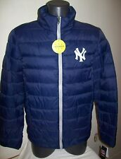 NEW YORK YANKEES Puffer Pack It Jacket with Tote Bag S M LG XL 2X BLUE