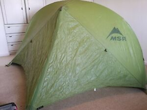 MSR Hubba HP 1 Person Tent, Ultralight, Backpacking, Cycle Touring, Wild Camping