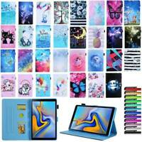 """For Samsung Galaxy Tab A S5e 8-10.5"""" Case Pattern Magnetic Flip Stand Slim Cover"""