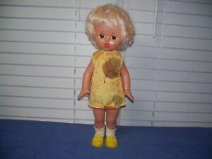 "Vintage USSR Soviet Russia Lenigrushka Factory Blonde Doll 18"""
