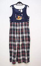 NWT Vintage Disney Catalog XXL Dress Sleeveless Winnie Pooh Corduroy Maxi Pocket