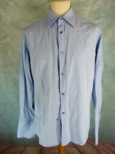 GUCCI Chemise Homme Taille 41 / 16 - Manches longues - Bleue clair