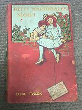 BETTY MARTINDALE'S SECRET, Lena Tyack, Religious Tract Society, UK