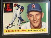 F64238  1955 Topps #106 Frank Sullivan RC RED SOX