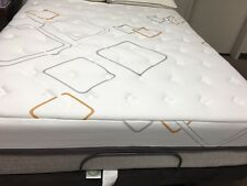 "KING TEMPUR-PEDIC  Adjustable Bed w NEW 12"" Cool Gel Hybrid Memory  Mattresses"