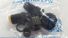 Lot of 3 AMPHENOL LTW P/N BU-12BFFA-SL7001 STD ASSY SCREW 12 PIN F CONN F PIN