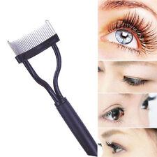 New Eyebrow Eyelash Comb Brush Metal Stainless Steel Comb Cosmetic Makeup Tool