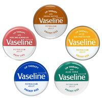 Vaseline Lip Therapy Petroleum Jelly 20g Pocket Size Lip Balm Treatment