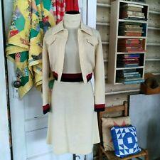 New listing Vintage 50s 60s Jonathan Logan Tennis Style Pencil Dress Jacket Wool Knit Set Xs