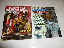 JUDGE DREDD THE MEGAZINE - Series 4 - No 378 - Date 20/12/2016 - Inc Mini Comic