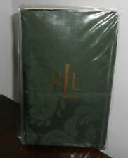New RALPH LAUREN RUTHERFORD PARK Green STANDARD Pillowcases