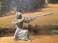 1 Barzso lady pioneer 45-54mm Rare female musketeer Davey Crockett Alamo Indians