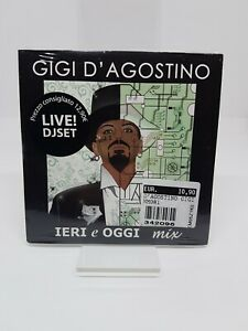 GIGI D'AGOSTINO IERI E OGGI VOL. 1 MEDIA RECORDS ITALIA SEALED
