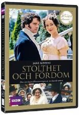 JANE AUSTENS PRIDE & PREJUDICE (BBC) DVD - REGION 2 - NEW AND SEALED