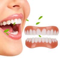 Veneers False Teeth Snap On Instant Smile Veneers Cosmetic Teeth Dentures Dental