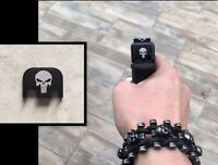 Cover Ornement decoration culasse punisher glock 17 19 34 .. tete de mort skull