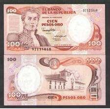 COLOMBIA  100  PESOS  ORO 1987   P 426c   Uncirculated