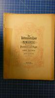 Das Wohltemperierte Klavier Joh.Seb.Bach Edition Peters H-8199