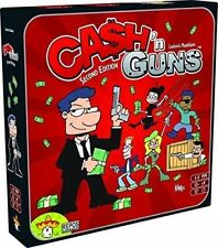 Cash N Guns Second Edition 2nd Repos Board Game and