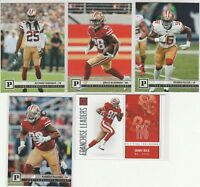 2018 Panini Football 49ers Jerick McKinnon Richard Sherman Jerry Rice D. Buckner