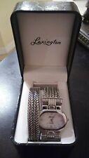 NIB Lexington Women's Quartz Watch & Matching Bracelet Silver-tone