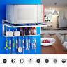 2 Tier Aluminum Microwave Oven Rack Shelf Bracket Stand Mounted Kitchen Storage