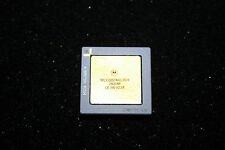 Vintage Motorola MC68824RC16H - MC68824, Gold Ceramic PGA 68, CPGA