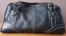 FOSSIL Premium LUXUS Handtasche LEDER Ledertasche SHOPPER Bowling BAG gepflegt #