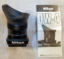 FINAL AUCTION - Nikon DW-4 6x High Magnification Finder for F3 - Unused in Box