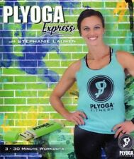PLYOGA EXPRESS 3 WORKOUTS ON A USB DRIVE NEW STEPHANIE LAUREN NOT ON A DVD
