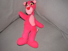 "Pink Panther Plush Stuffed Animal 1980 United Artists Mighty Star 15"" Vtg"