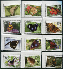 TONGA - NIUAFO'OU #275 -86 Selvage, MNH Complete Set / Butterflies - FOS83