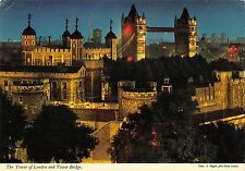 BR90744 the tower of london and tower bridge  uk