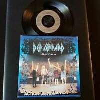 "Def Leppard - Action Vinyl,7"",45 RPM,single Rock Sammlung UK 1994"