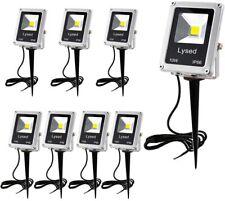 New listing 8 Pack 10W Led Landscape Lights Pathway Lights Low Voltage Spotlights Warm White